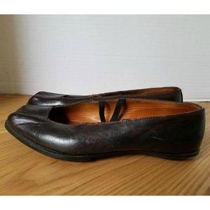 Cydwoq Shoes - CYDWOQ VINTAGE LEATHER BALLET FLAT  SZ 38 US 8